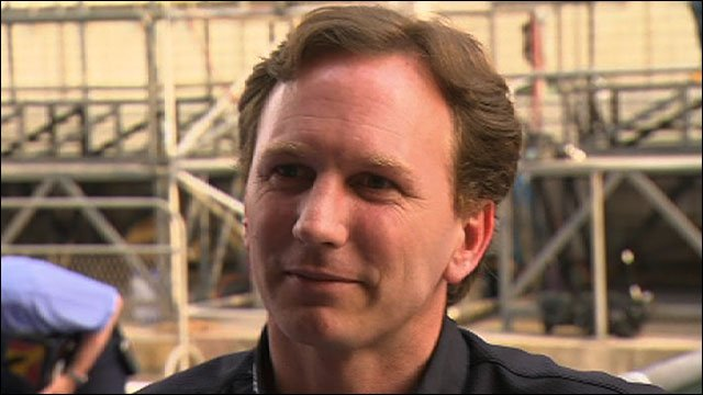 Red Bull team principal Christian Horner