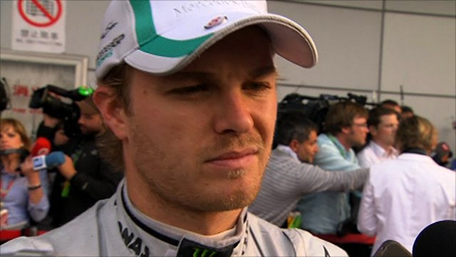 Mecedes GP's Nico Rosberg