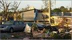 Damage in Raleigh, North Carolina, 17 April 2011