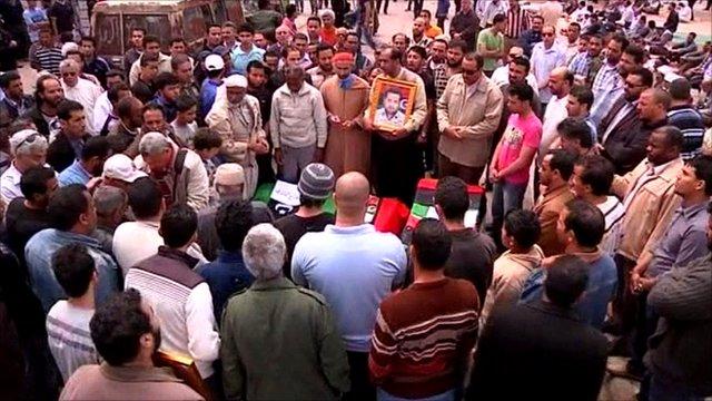 Funeral in Benghazi