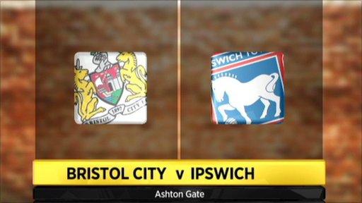 Bristol City 0-1 Ipswich