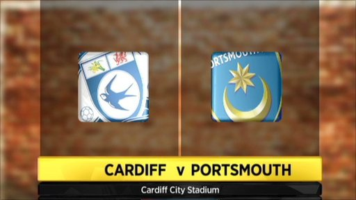 Cardiff 3-0 Portsmouth