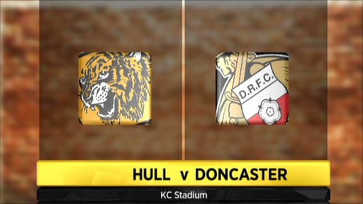 Hull 3-1 Doncaster