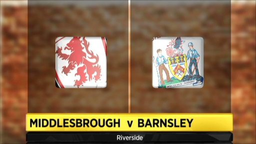 Middlesbrough 1-1 Barnsley