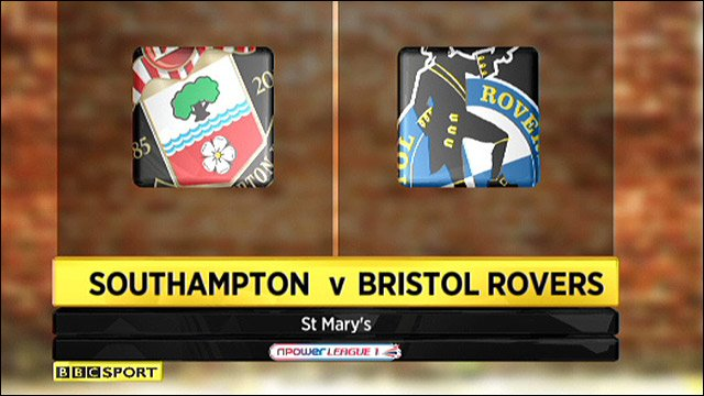 Southamptoin v Bristol Rovers