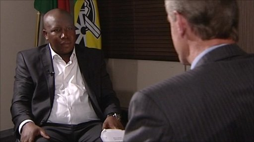 HARDtalk's Stephen Sackur talks to Julius Malema � President, ANC Youth League