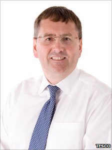 Philip Clarke, Chief Executive of Tesco