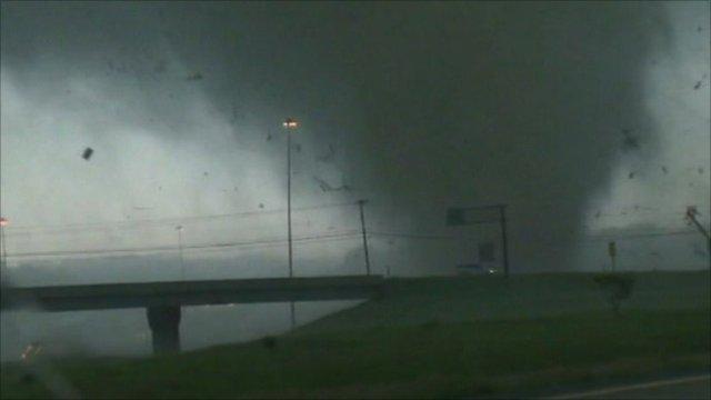 Tornado in US