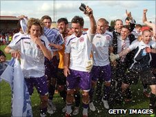 Crawley celebrate promotion