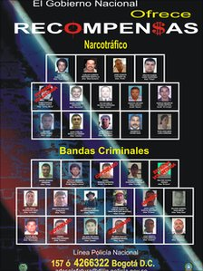 National Police&#039;s most wanted poster 