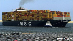 MSC ship