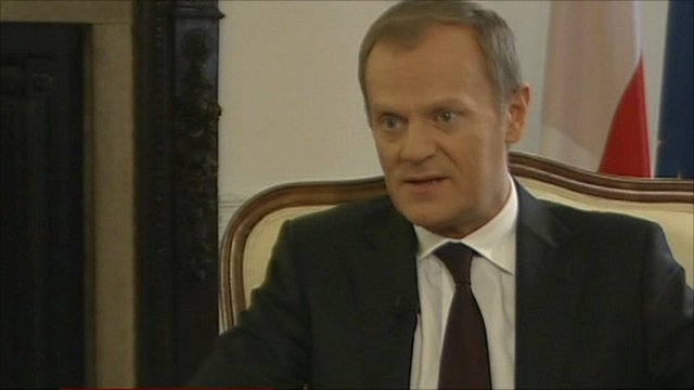 Polish PM Donald Tusk