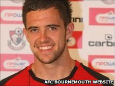 Bournemouth striker Danny Ings