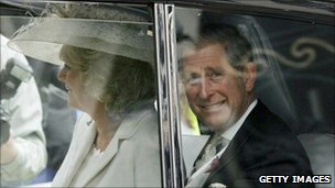 Duchess of Cornwall and Prince Charles