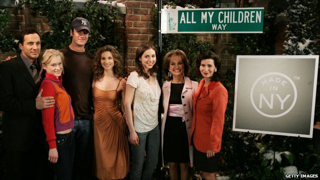 Cast of All My Children