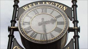 Wellington Community Clock