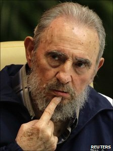 Fidel Castro, Havana, 19 April 2011