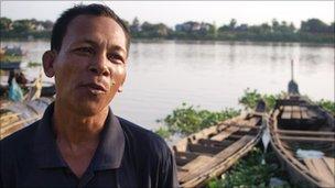 Sen Salim, fisherman