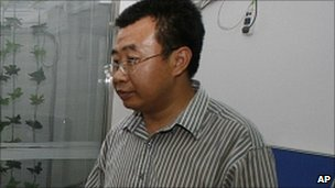 Chinese lawyer Jiang Tianyong (file photo 2009)