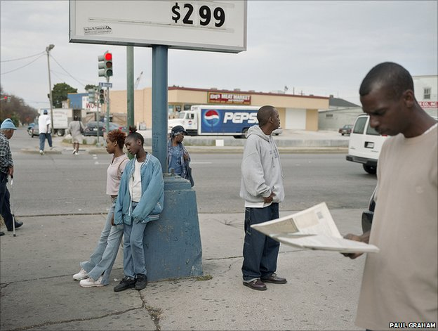 New Orleans, 2005 (Cajun Corner), from the series a shimmer of possibility, Colour coupler print
