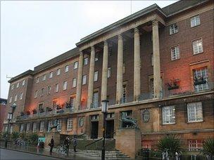 Norwich City Council building