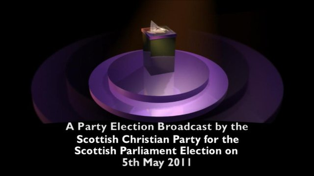Scottish Christian Party election broadcast
