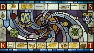 Stained glass by Jane Gray