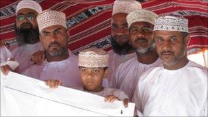 Omani protesters