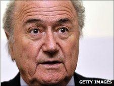 Sepp Blatter,  FIFA president since 1998