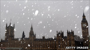 Snowy Parliament