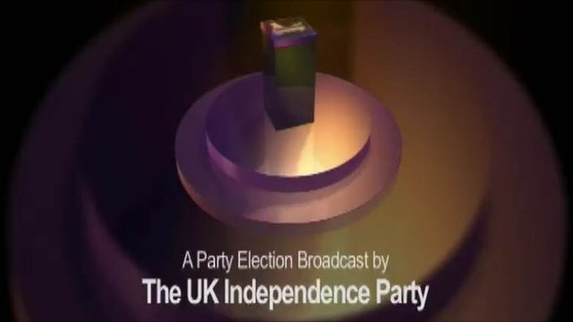 UK Independence Party party election broadcast graphic