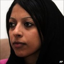 Zainab al-Khawaja, daughter of leading Bahraini activist, 12 April 2011