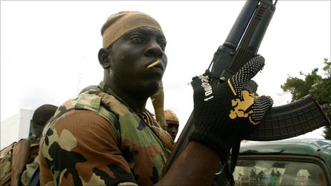 Forces loyal to Ivory Coast's new President Alassane Ouattara say they have launched a mopping up operation to stamp out the remaining combatants loyal to Laurent Gbagbo, who was deposed last week. The BBC's Thomas Fessy joined them on the frontline in the main city of Abidjan.
