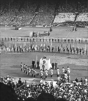 London Olympic Games, 1948 (Image: BBC)