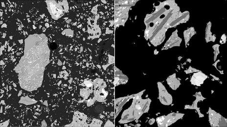 Ash samples (PNAS)