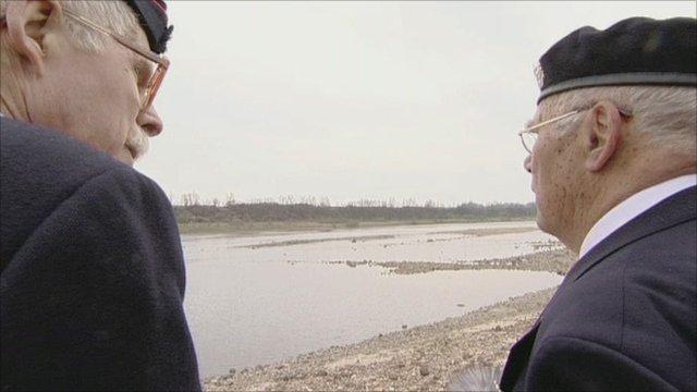 Veterans at Imjin River