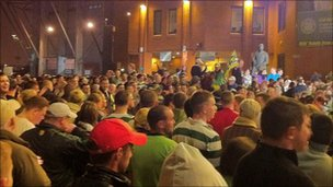 Celtic Park vigil