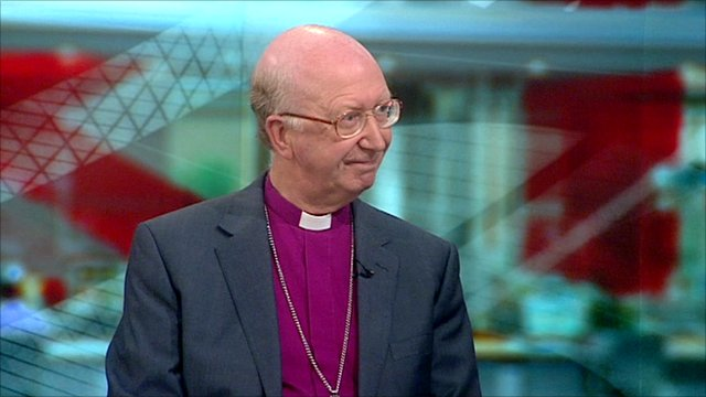 Bishop of Oxford, the Right Reverend John Pritchard