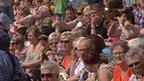 The crowds at Aberavon on Saturday
