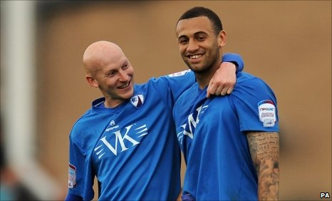 Danny Whitaker and Craig Davies