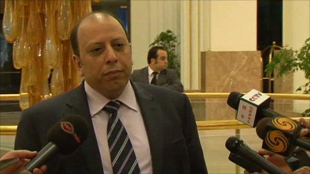 Libyan deputy foreign minister Khalid Kaim
