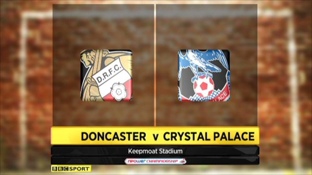 Doncaster 0-0 Crystal Palace