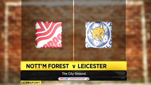 Notts Forest 3-2 Leicester