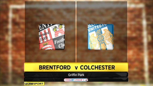 Brentford 1-1 Colchester