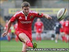 Munster fly-half Ronan O'Gara