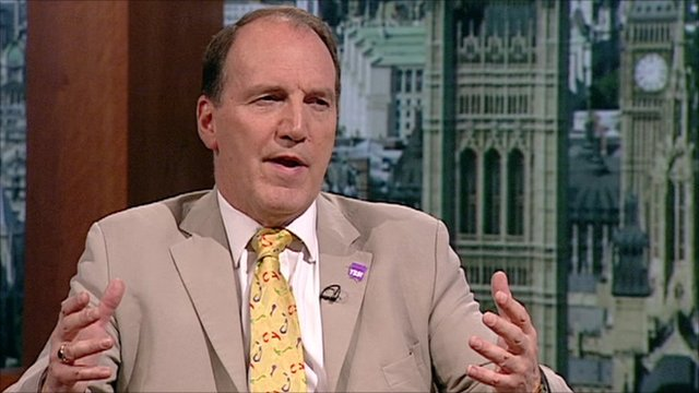 Simon Hughes on the Andrew Marr Show