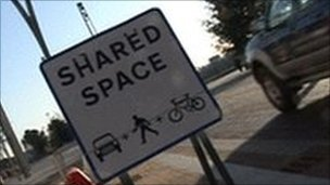 shared space sign