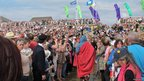 Thousands watched Sheen's Passion Play