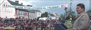 Ronald Reagan in Ballyporeen