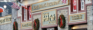 Irish pub in New York